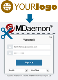 MDaemon Hosted Email - Custom Login