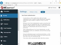 MDaemon Webmail - Two-Factor Authentication (2FA)