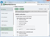SecurityGateway for Email Servers - DMARC